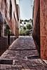 Callejon de Yecla (Jose Casielles) Tags: calle casas yecla baldosas callejon pendiente estrecha fotografíasjcasielles