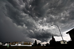 Storm's a brewin' (Chadwise) Tags: storm weather clouds alberta thunder fortmcmurray