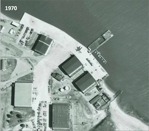 Jericho Beach seaplane hangars 1970