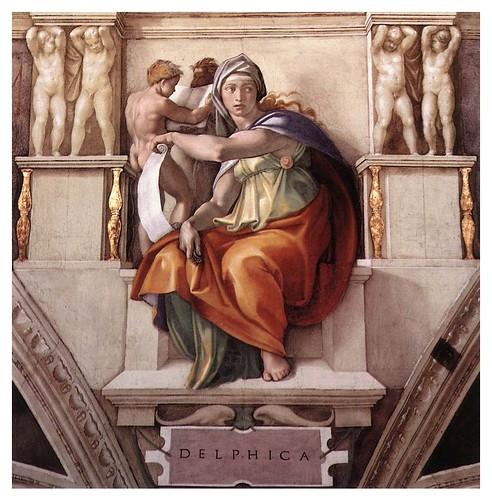007-Sibila de Delfos pintada por Miguel Angel en la Capilla Sixtina2