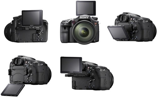 Sony A77 – Articulating LCD