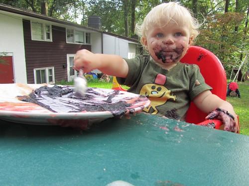 eater paint, applesauce edition