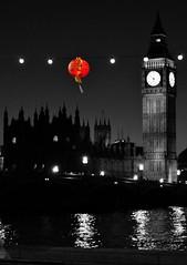 Chinese New Year, London 2011 (Lamby1959) Tags: westminster thames night reflections nikon chinese bigben southbank lantern stpaulslondon d5000 mygearandme artistoftheyearlevel3 artistoftheyearlevel4 musictomyeyeslevel1 flickrstruereflection1