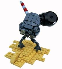 Scout (aabbee 150) Tags: robot lego scout mini abraham 150 mech foitsop aabbee