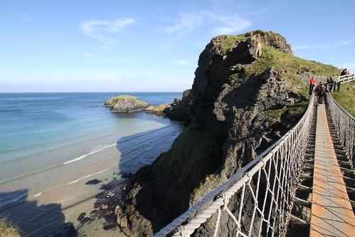 Die Carrick-a-rede Brücke