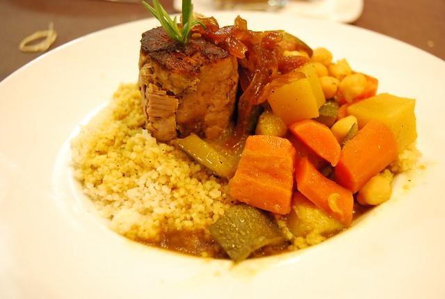 Cous Cous del Restaurante TK de Alicante