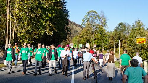 VEO Protestmarsch 2011