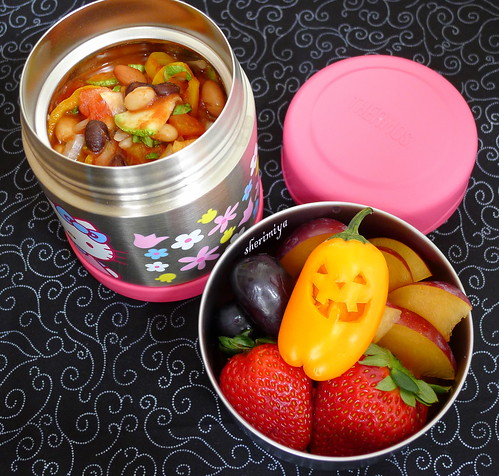 Chili and Pepper Jack Bento by sherimiya ♥