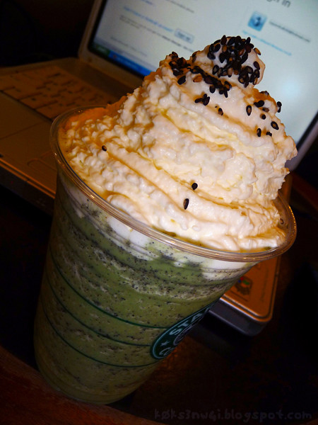 Black Sesame Green Tea Cream Frappuccino® from Starbucks