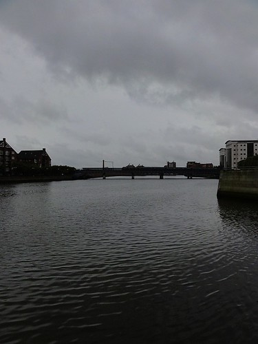 A Dreary Evening over the River Lagan