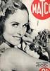 The 1930s- 1938 Match magazine cover (april-mo) Tags: paulettegoddard the1930s vintagefrenchmagazine vintagemovieactress 1938magazine 1938match
