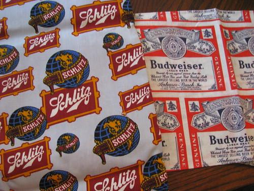 Vintage Beer Fabric