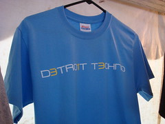 Detroit Techno Record Rainbow T-Shirt