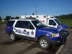 Thunder Bay, Ontario (Emergency Vehicle Photography) Tags: ontario canada ford expedition police thunderbay