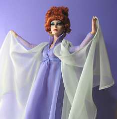 Endora Bewitched doll (infadoll) Tags: doll ooak customized custom bewitched tonner endora agnesmoorehead