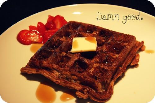 damn good waffle