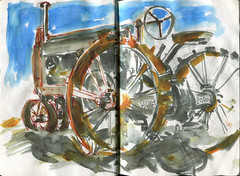 Sauvie Island - John Deere Tractor