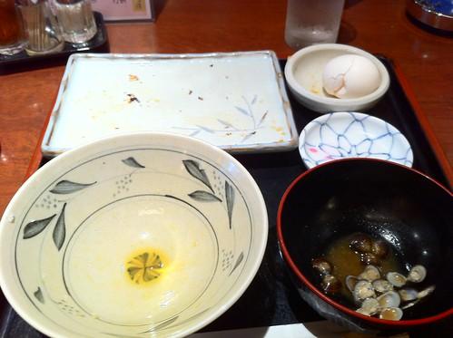 鯖の焼き魚定食。ごちそうさまでした。