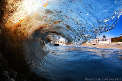 La Jolla 7.6.11 (D.Michelson) Tags: ocean california beach water la sand nikon san surf barrel wave diego fisheye tokina housing spl jolla 1017 shorebreak d300