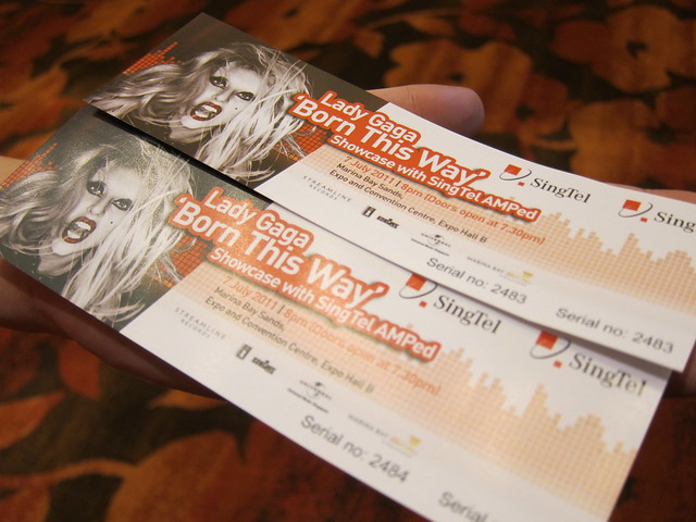 2x Tickets