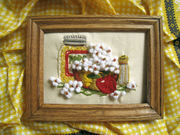 popcorn embroidery