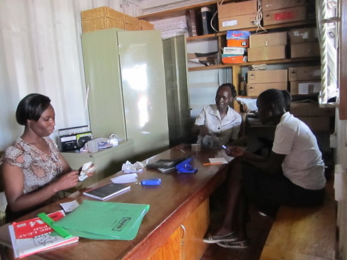 Office at Kibera Paper