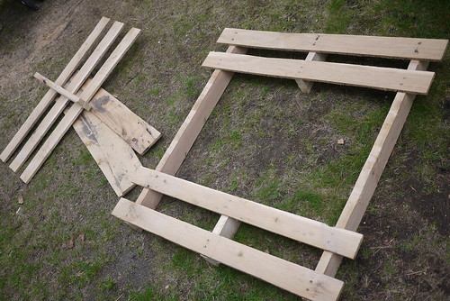 Pallet after saws-all