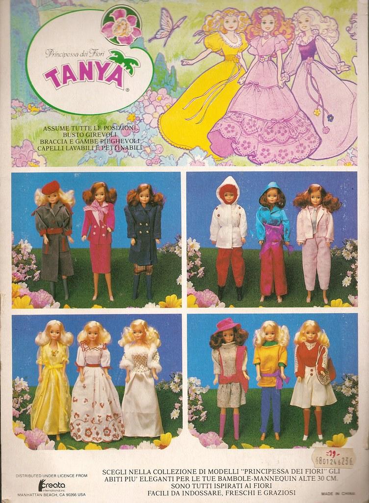 Ceppiratti Creata Bambola Tanya Primadonna Principessa Dei Fiori Vintage Doll Bambole Fashion
