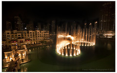 Dubai fountain (Fawaz Alfawaz) Tags: fountain canon dubai united sigma emirates arab 1785 1020 fawaz 40d alfawaz