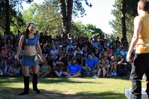 Atomic Arts' Trek in the Park