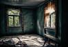 Finnish living room from 70's (Aspiriini) Tags: house mess curtains talo rauma abadoned autio verhot sotku hylätty autiotalo jonilehto aspiriini