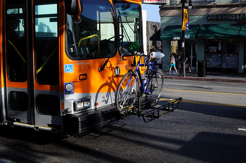 Bike Carrier on Metro Bus
