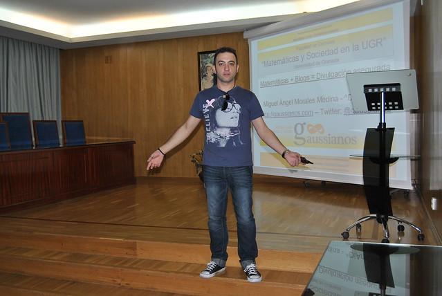 """Impresiones sobre mi charla """"Matemáticas + Blogs = Divulgación Asegurada"""""""