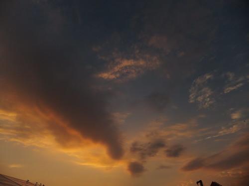 Sky over Bluesfest