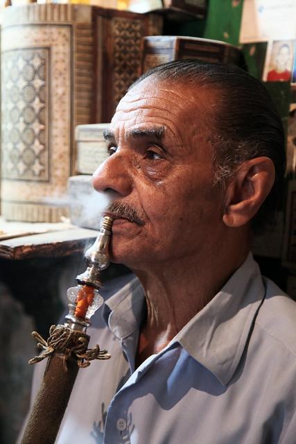 エジプト、カイロ、水タバコ