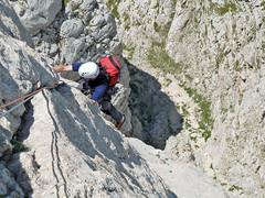 Alpinsimo Gran Sasso - via Amore-Gambini (II Spalla, Corno Piccolo)