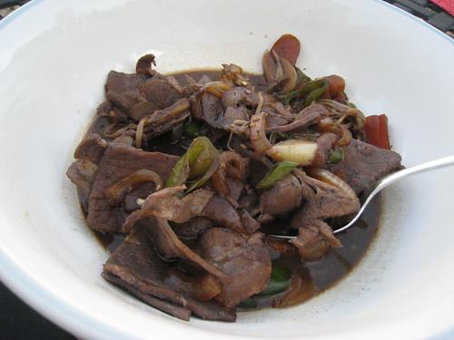 Multi-cultural pork dish