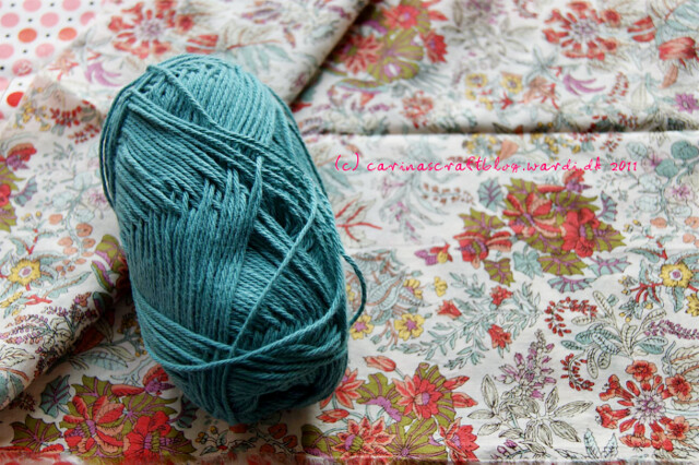 Fabric for dress, yarn for shawl