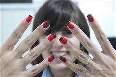 Francesinha com Nail Art [EXPLORED] (Lelê Breveglieri) Tags: nail polish fanny vermelho bm unha esmalte francesinha inglesinha bm19 bundlemonster