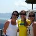 Elaine, Mi e Flávia em Kintamani