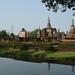Ruínas do primeiro Império tailandês, em Sukhothai