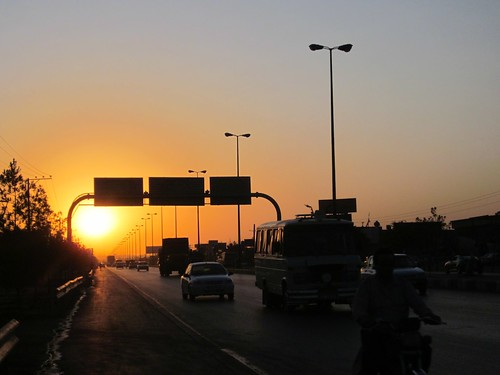 Arriving in Mashhad.