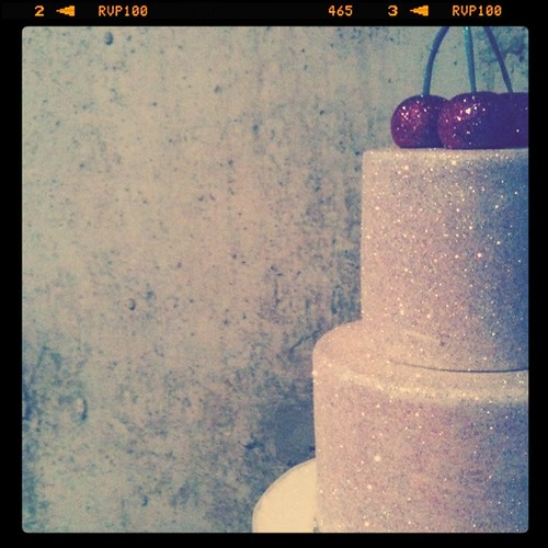 Glitter Cake (Instagram Photo)