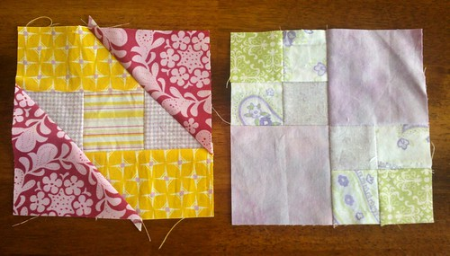 Farmer's Wife Blocks 1 and 2