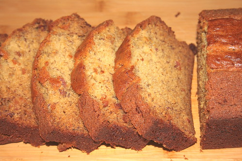 Jolts & Jollies: Maple Brown Sugar Bacon Banana Bread
