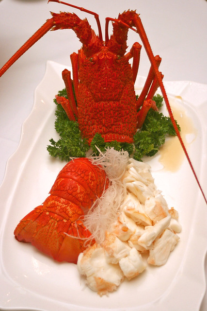 Cold Lobster in Teochew style