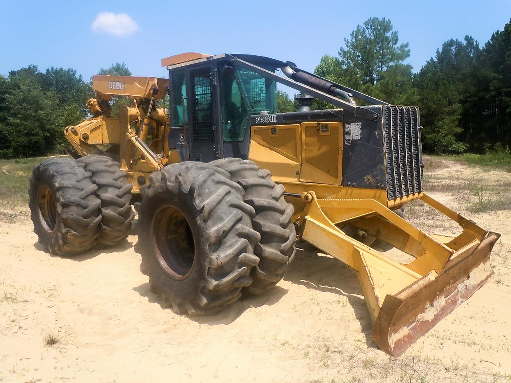 2003 John Deere 748G-III Skidder for Sale at Forestry First