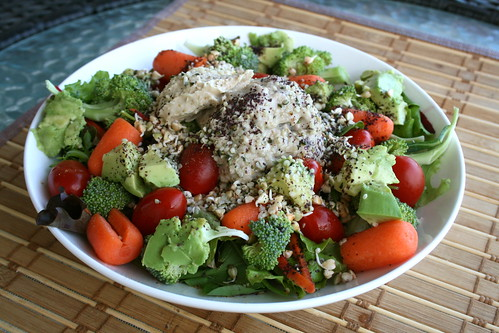 hungry hippie salad