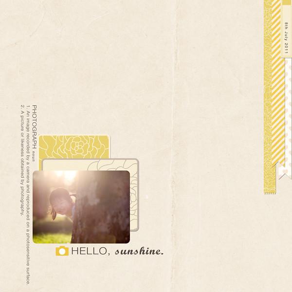 Hello,-Sunshine