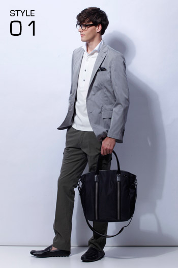 Robert Rae0123_23区 HOMME 2011 Spring & Summer Collection